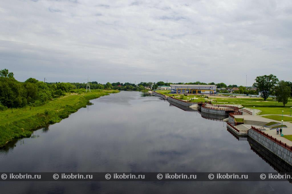 Река Мухавец, Кобрин, Беларусь